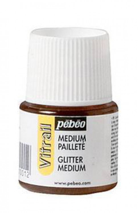 Pebeo : Vitrail Sparkling Medium : 45ml : Ship By Road Only