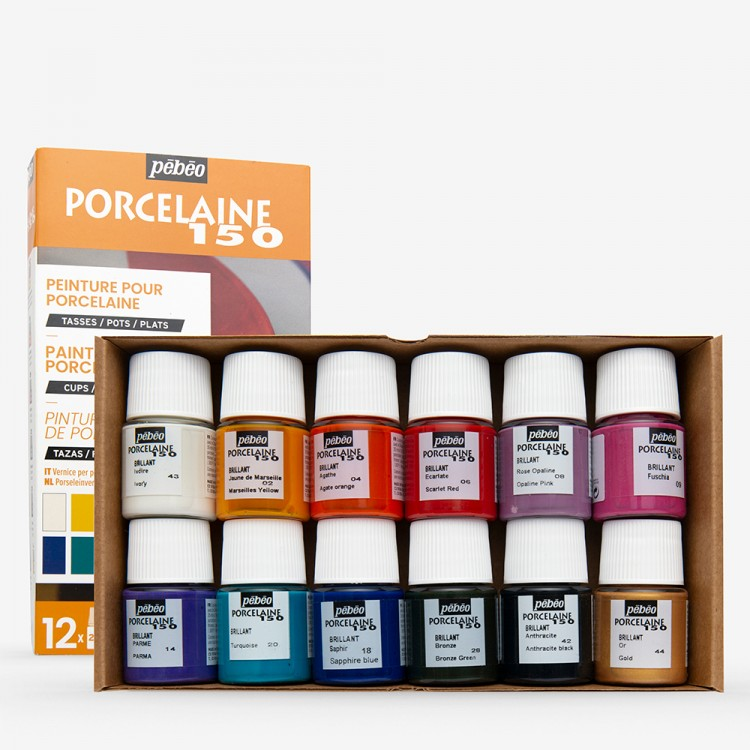 Pebeo : Porcelaine 150 DISCOVERY SET 12 x 20ml
