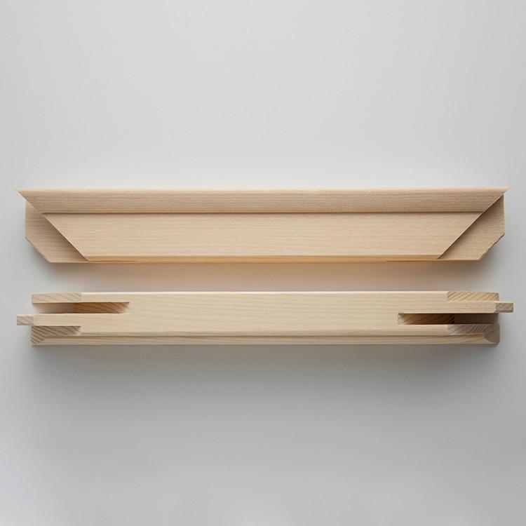 Jackson's : Professional 120cm Stretcher Bar Pair : 43x58mm Profile