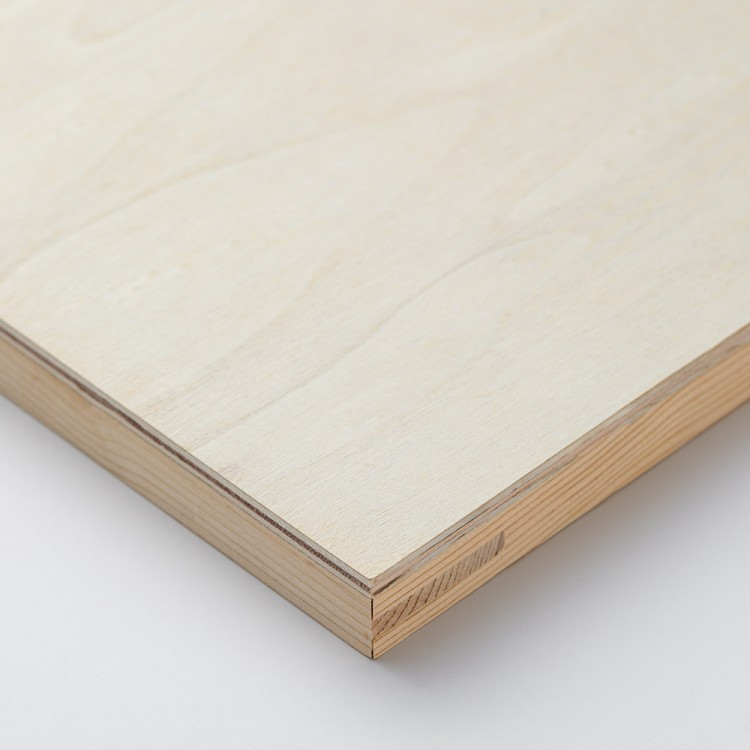 Jackson's : Wooden Panel : 4x4in (Approx.10x10cm) : 20mm Deep