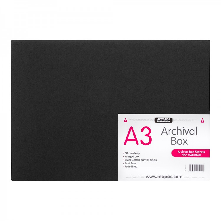 Mapac : Archival Box : A3 : Black