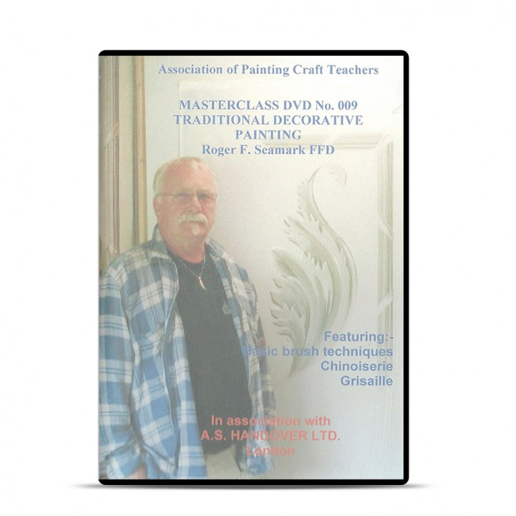 APCT : DVD : Traditional Decorative Painting : Roger Seamark