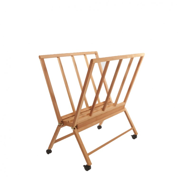 Mabef : M40 Beech Print Rack 22inx34inx40in High : Weighs 22lb