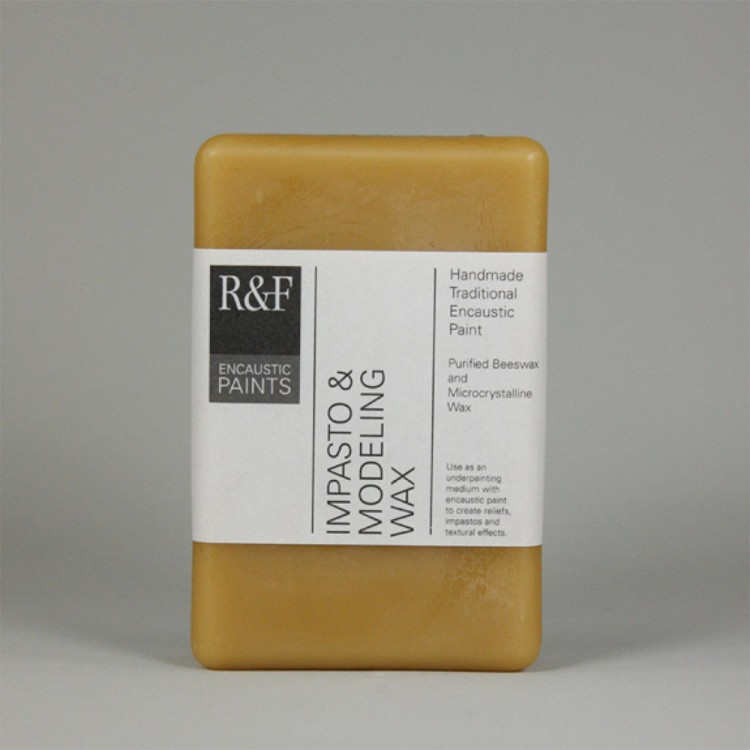 R&F : 333ml (Large Cake) : Encaustic (Wax Paint) : Impasto Modelling Wax (1201)