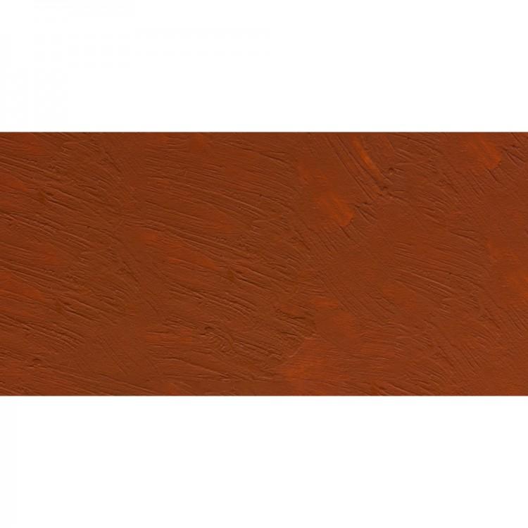 R&F : 40ml (Small Cake) : Encaustic (Wax Paint) : Mars Orange (1118)