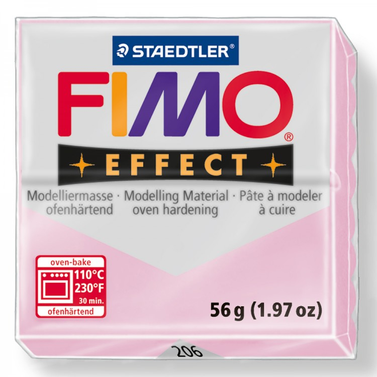 Staedtler : Fimo Effect 57g : Rose Quartz