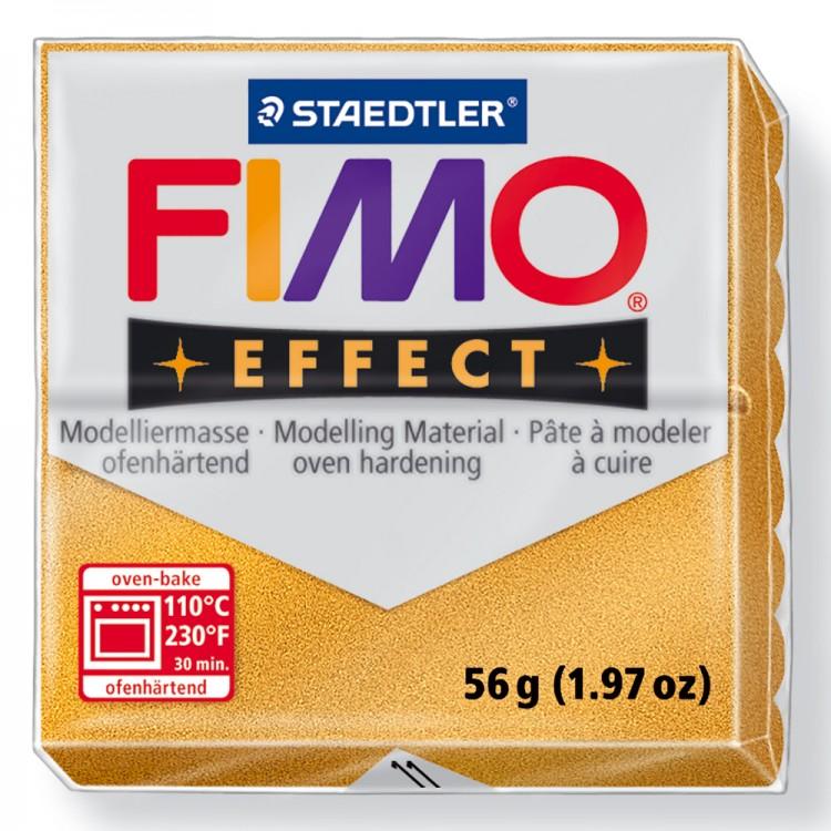 Staedtler : Fimo Effect : 57g Metallic Gold