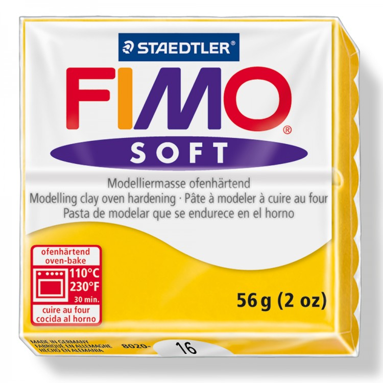 Staedtler : Fimo Soft : 57g Sunflower