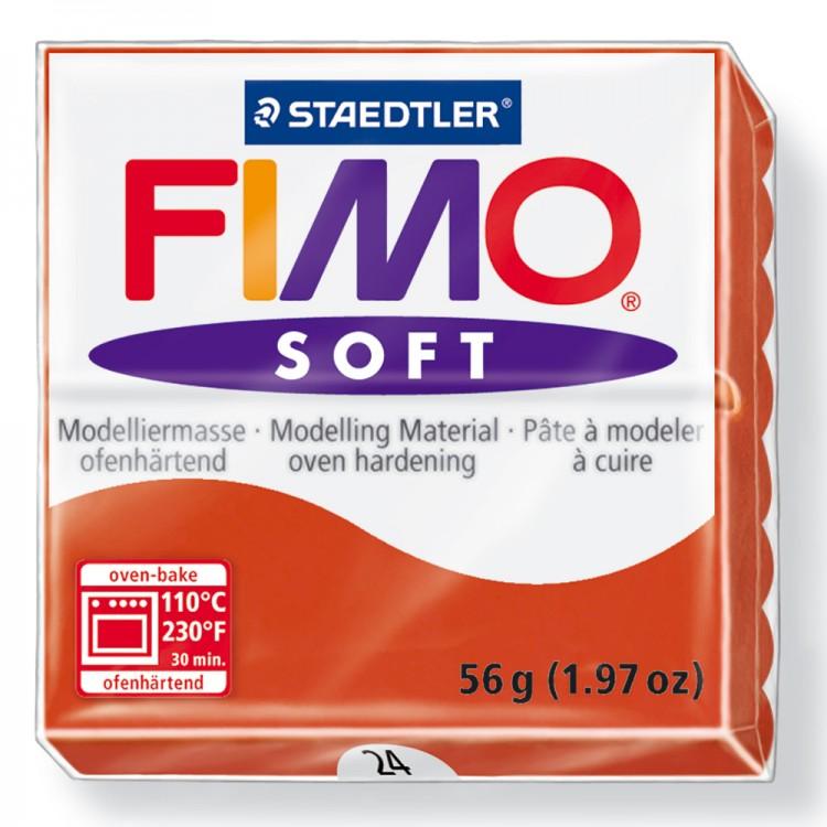 Staedtler : Fimo Soft : 57g Indian Red