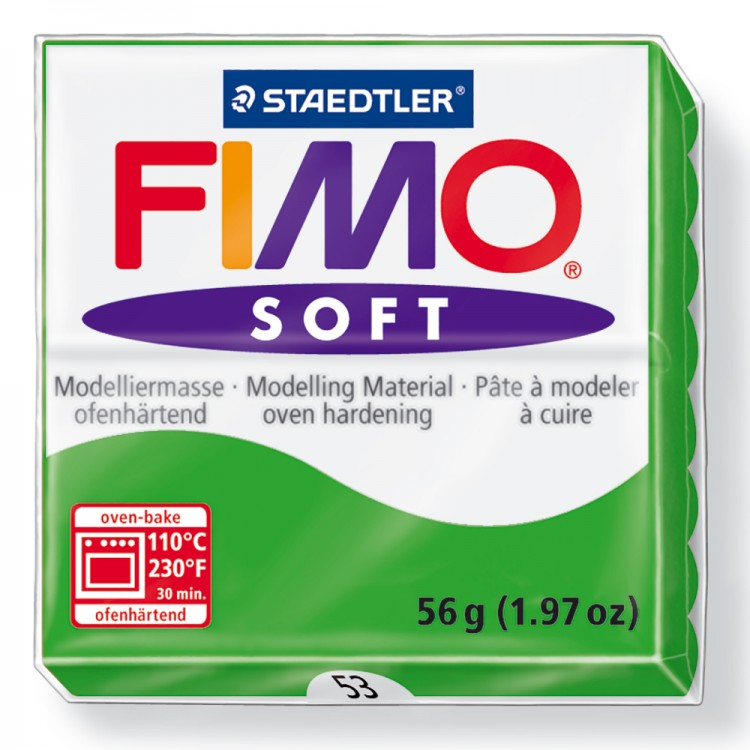 Staedtler : Fimo Soft : 57g Tropical Green