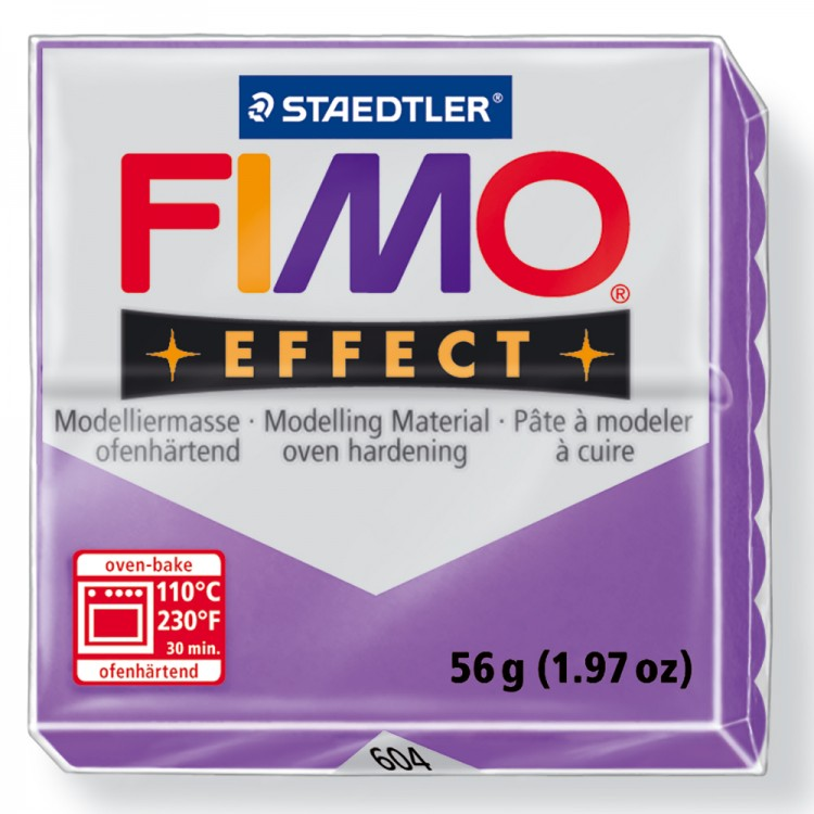 Staedtler : Fimo Effect : 57g Translucent Purple