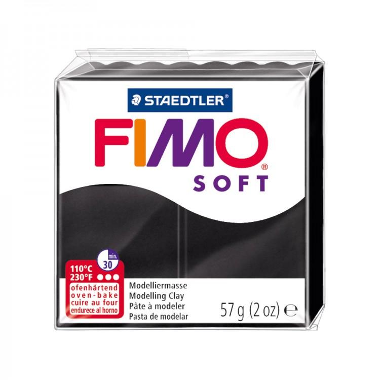 Staedtler : Fimo Soft : 57g Black