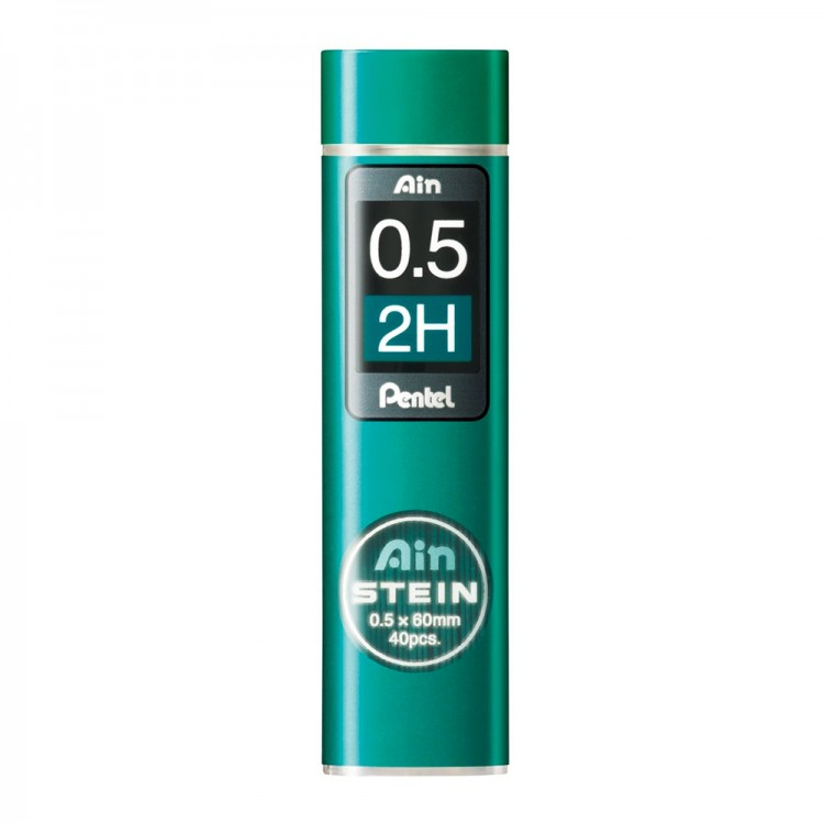 Pentel : Ain Stein : Lead Refill : 0.5mm : 2H