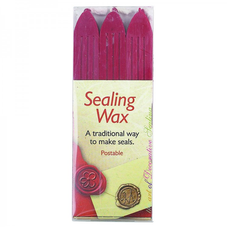 Manuscript : Calligraphy : Red Wax : Pack Of 3
