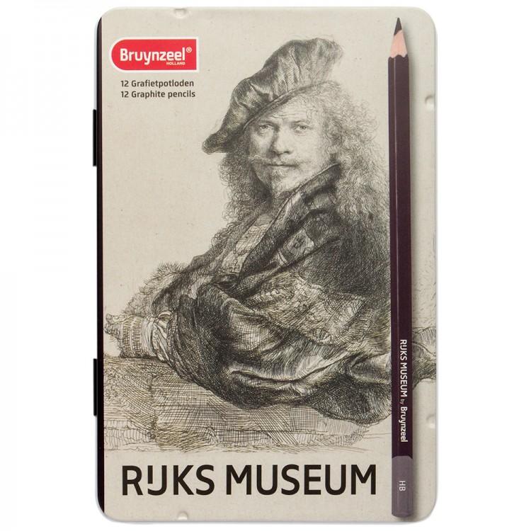 Bruynzeel : Rijksmuseum : Graphite Pencils : Set of 12