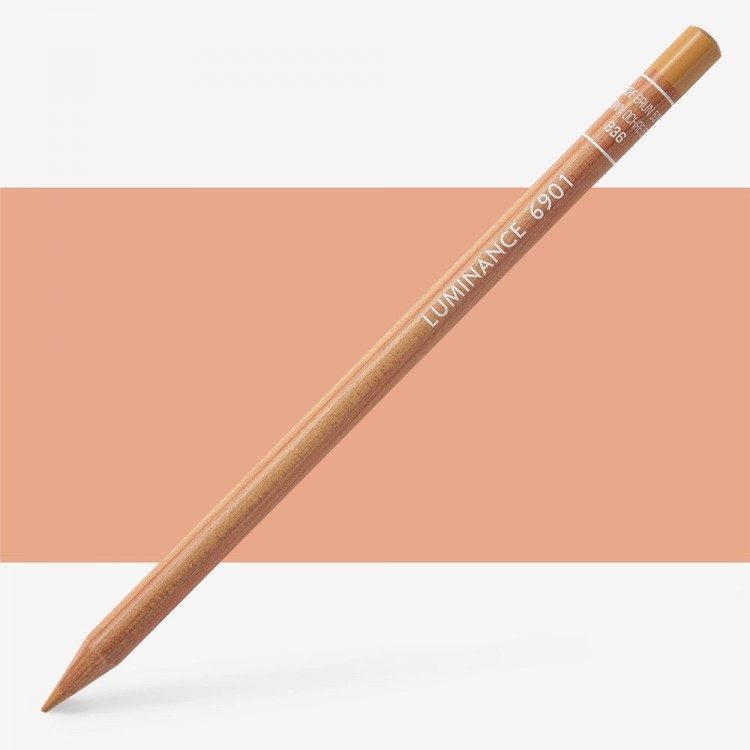 Caran d'Ache : Luminance 6901 : Colour Pencil : Brown Ochre 50%
