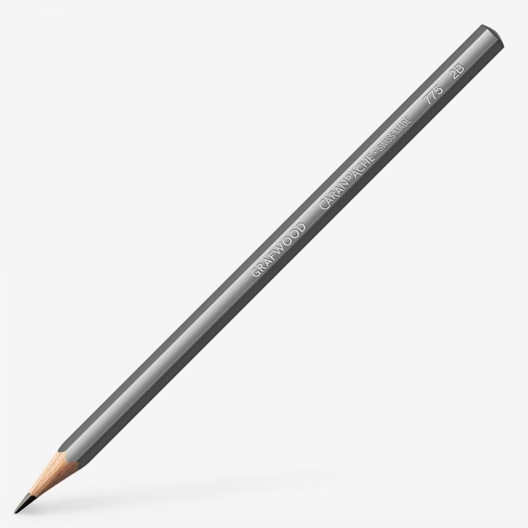 Caran d'Ache : Grafwood : Graphite Pencil : 2B