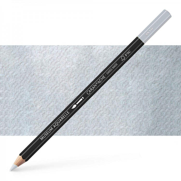 Caran d'Ache : Museum Aquarelle Pencil : Steel Grey