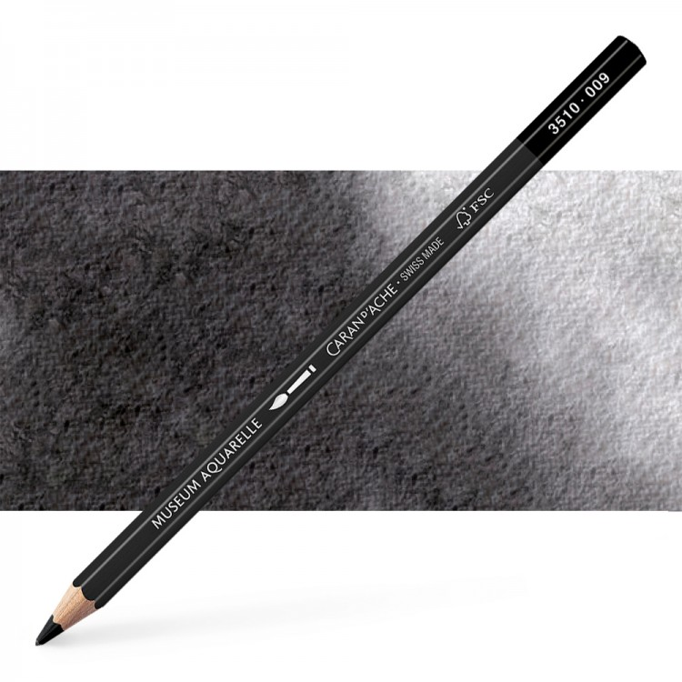 Caran d'Ache : Museum Aquarelle Pencil : Black