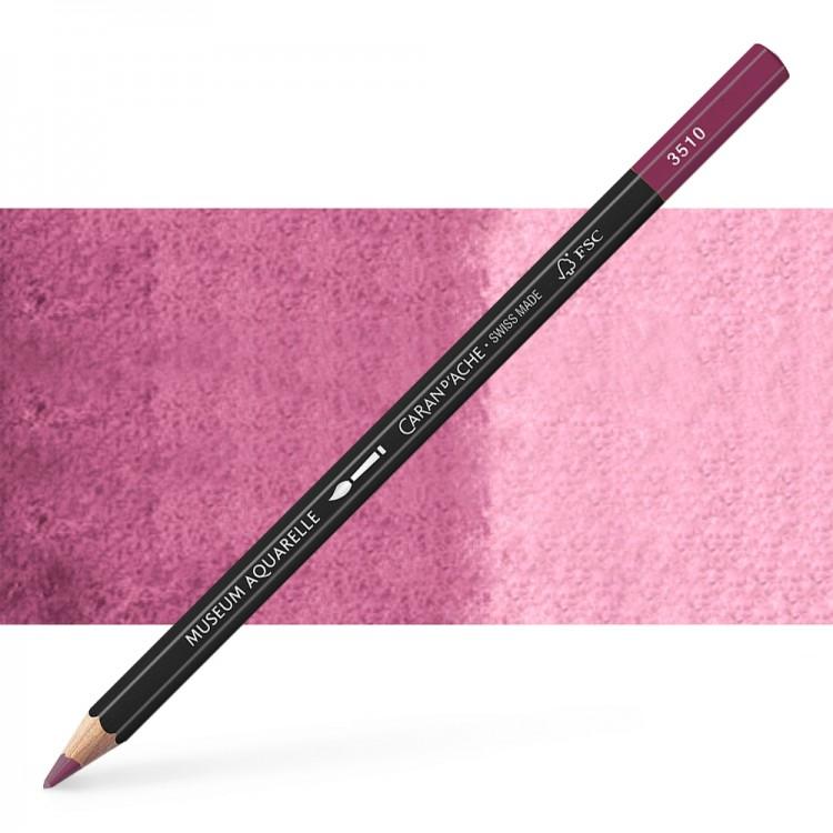Caran d'Ache : Museum Aquarelle Pencil : Dark Plum