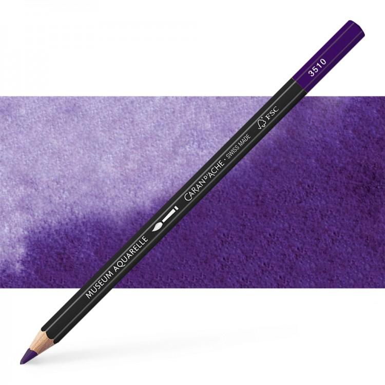 Caran d'Ache : Museum Aquarelle Pencil : Violet