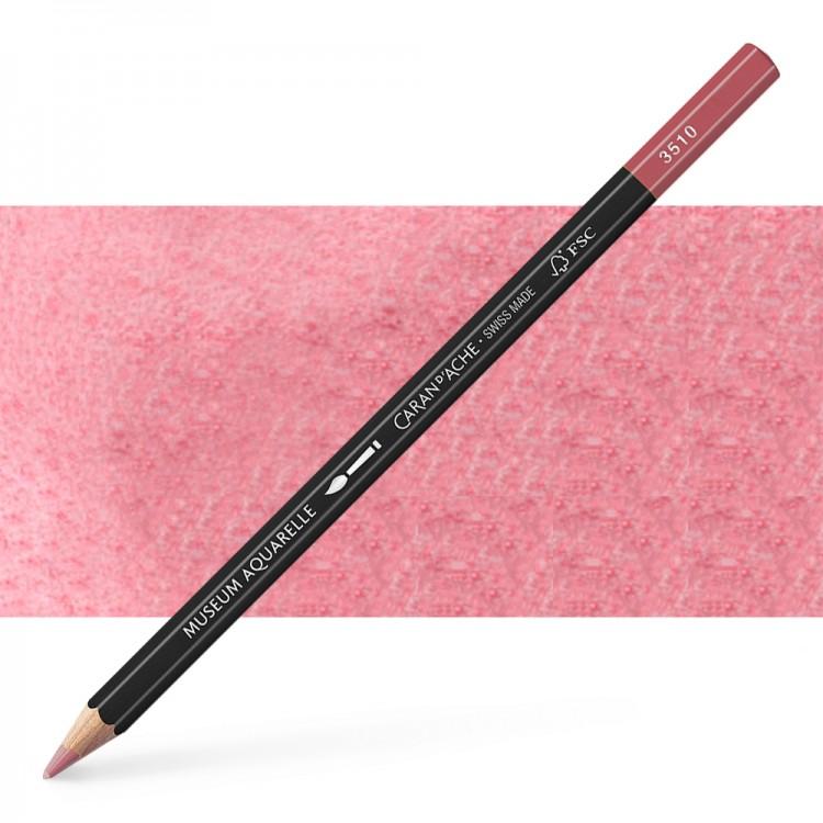 Caran d'Ache : Museum Aquarelle Pencil : Violet Pink