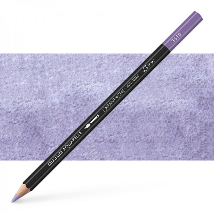 Caran d'Ache : Museum Aquarelle Pencil : Ultramarine Violet