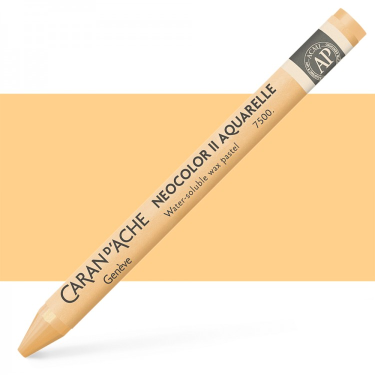 Caran d'Ache : Neocolor II : Watercolour Crayon : Flesh