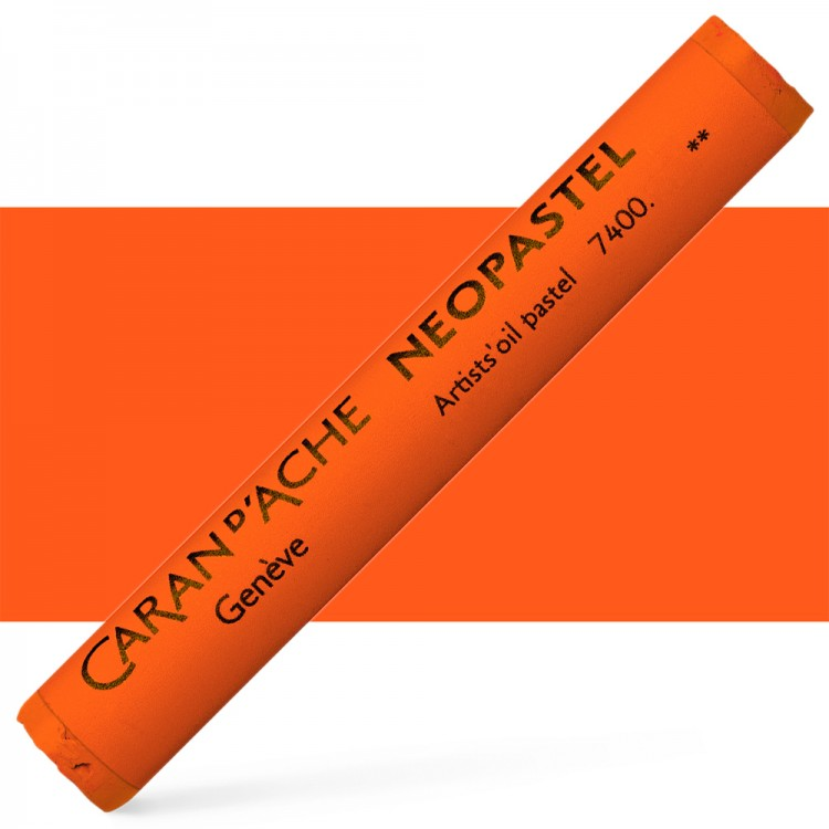Caran d'Ache : Artist Neopastel : Reddish Orange
