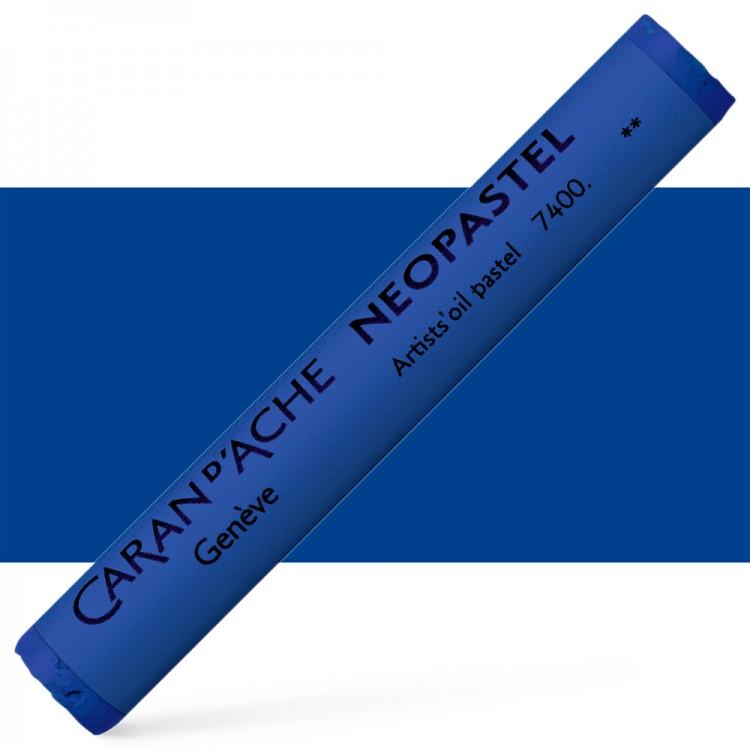 Caran d'Ache : Artist Neopastel : Royal Blue
