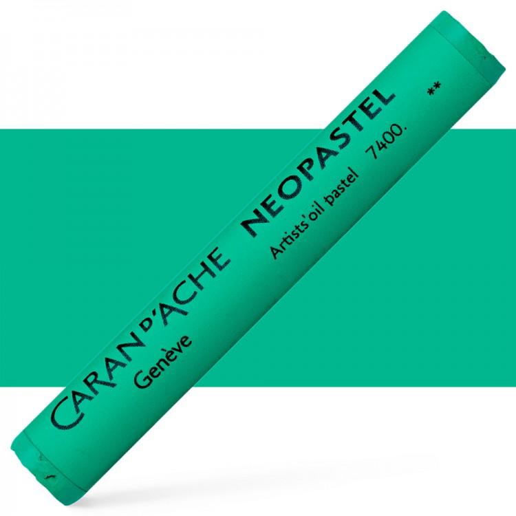 Caran d'Ache : Artist Neopastel : Veronese Green
