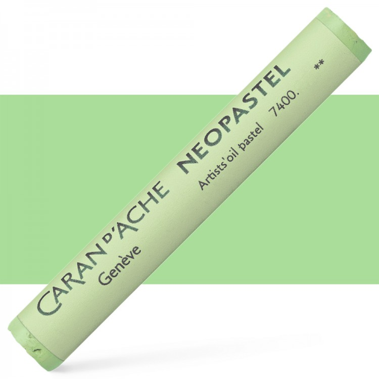 Caran d'Ache : Artist Neopastel : Lime Green