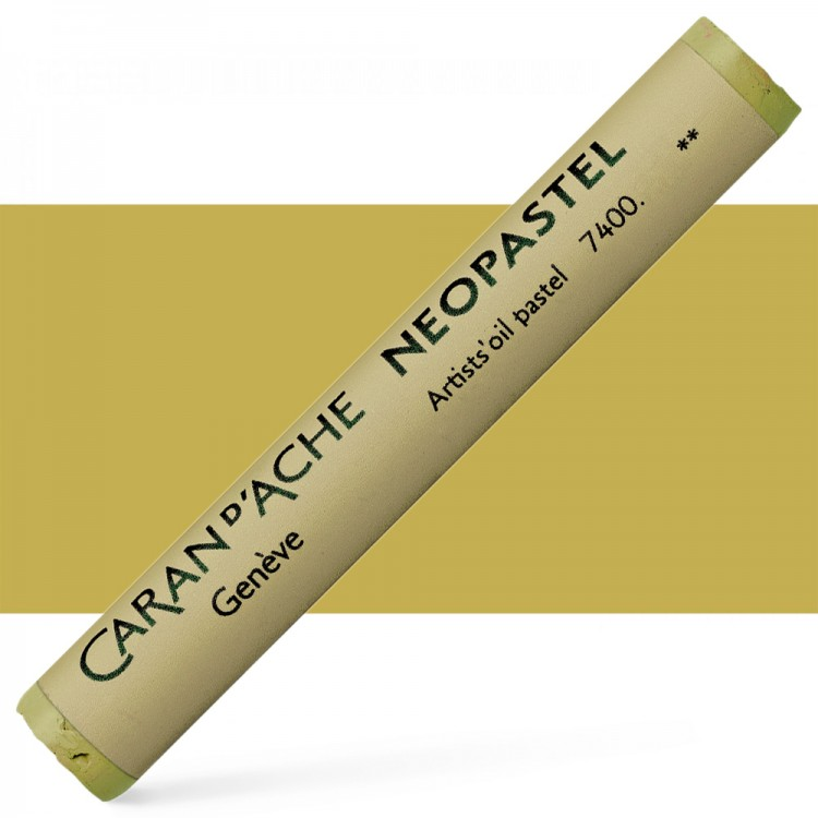 Caran d'Ache : Artist Neopastel : Gold