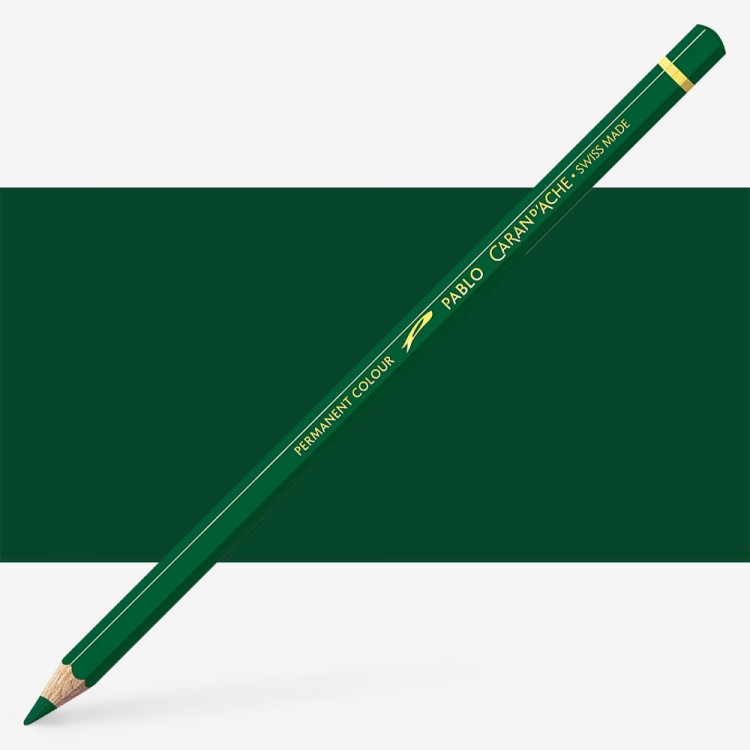 Caran d'Ache : Pablo Coloured Pencil : Olive Black 019