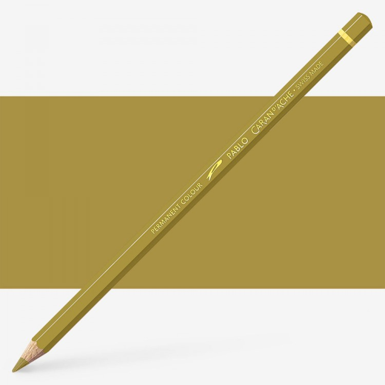 Caran d'Ache : Pablo Coloured Pencil : Ochre 035