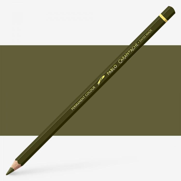Caran d'Ache : Pablo Coloured Pencil : Olive Brown 039