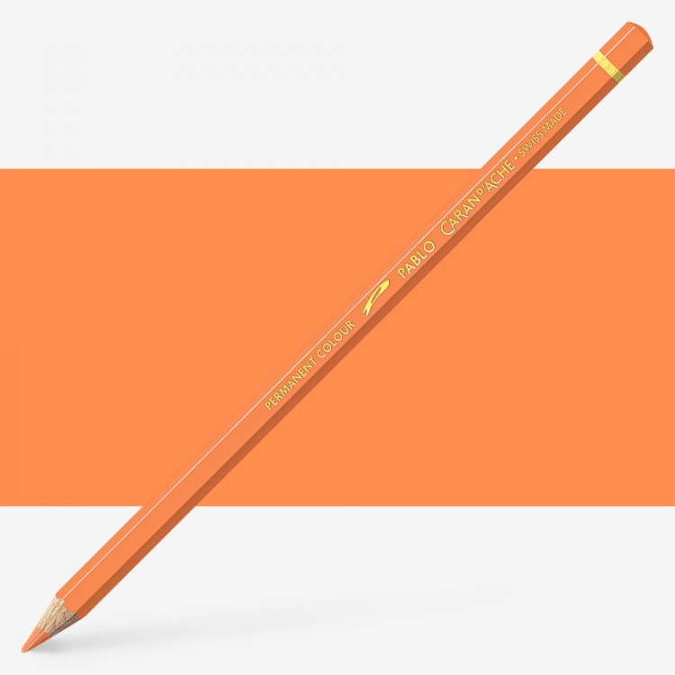Caran d'Ache : Pablo Coloured Pencil : Apricot 041