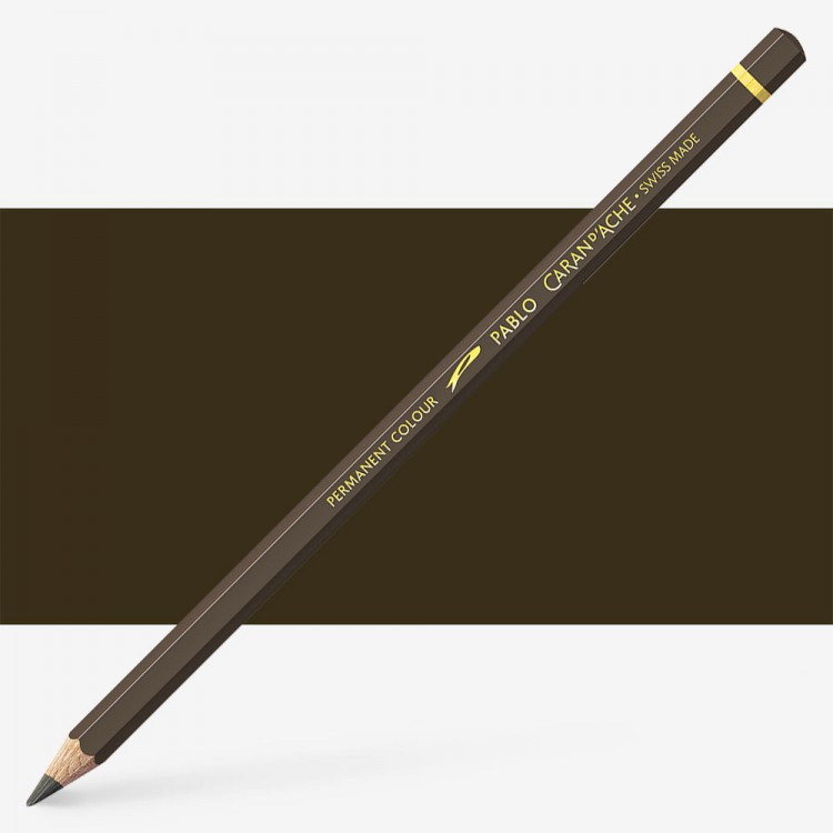 Caran d'Ache : Pablo Coloured Pencil : Raw Umber 049