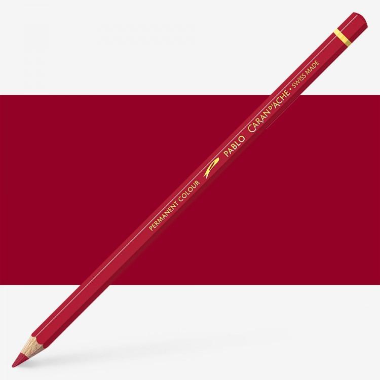 Caran d'Ache : Pablo Coloured Pencil : Bordeaux Red 085