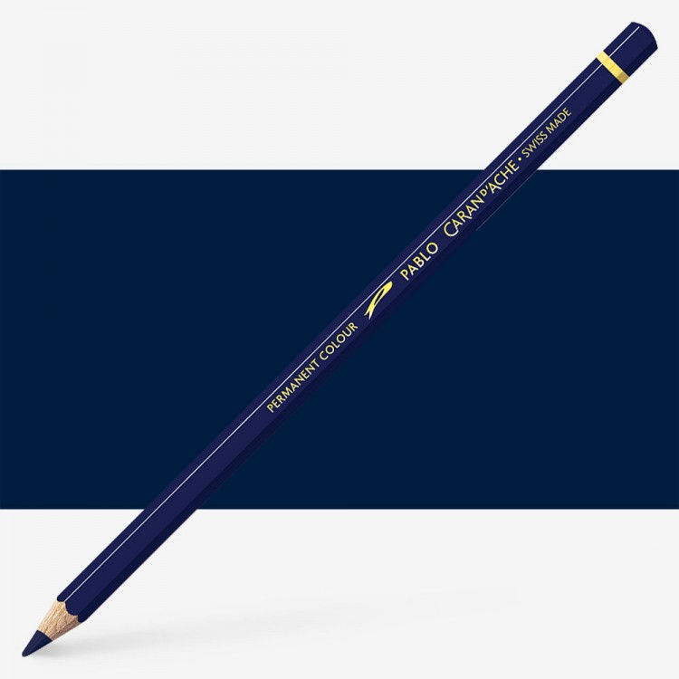 Caran d'Ache : Pablo Coloured Pencil : Indigo Blue 139