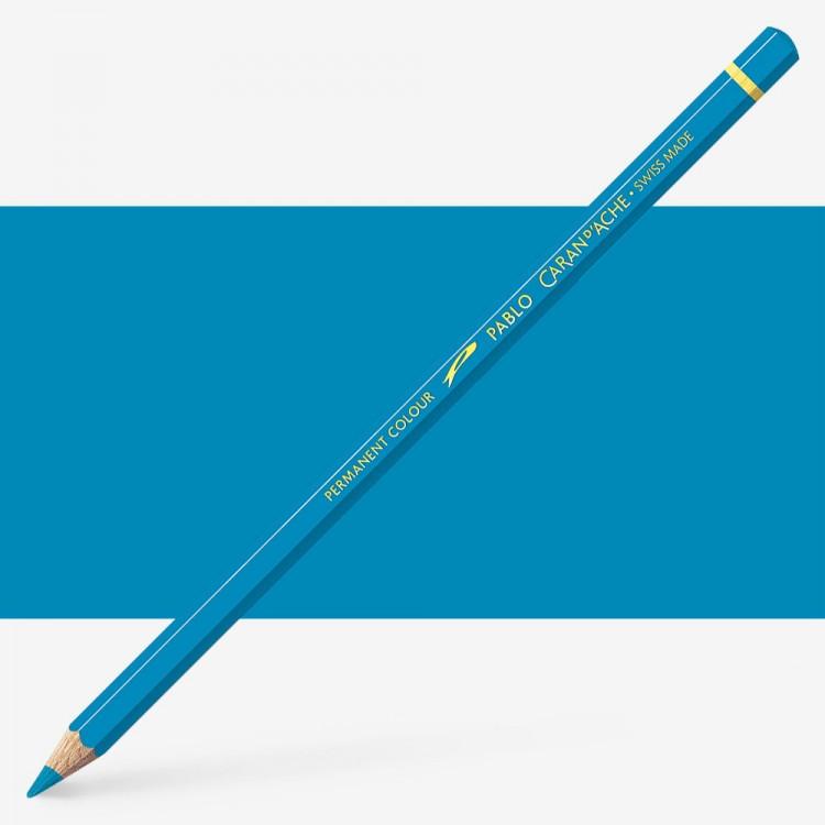 Caran d'Ache : Pablo Coloured Pencil : Azurite Blue 170