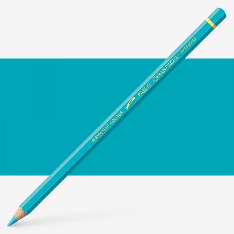 Caran d'Ache : Pablo Coloured Pencil : Turquoise Blue 171