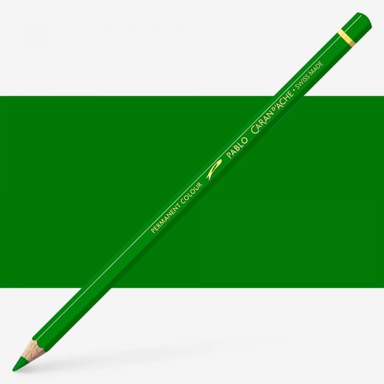 Caran d'Ache : Pablo Coloured Pencil : Moss Green 225