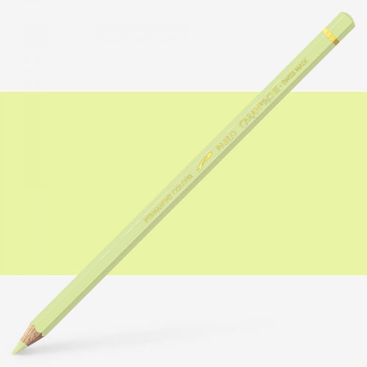 Caran d'Ache : Pablo Coloured Pencil : Light Lemon Yellow 241