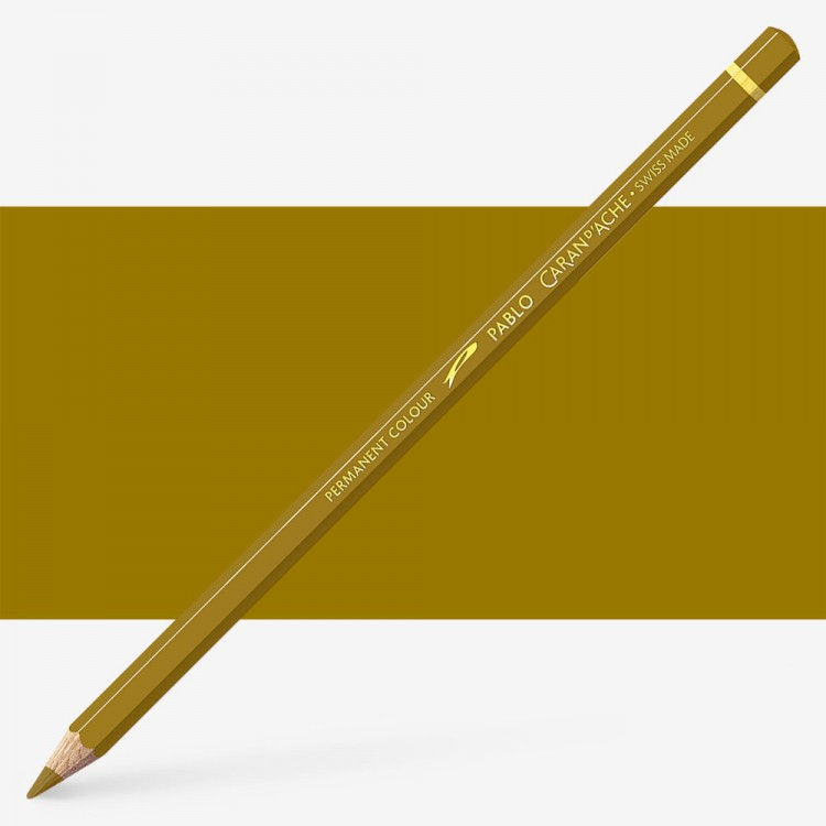 Caran d'Ache : Pablo Coloured Pencil : Olive 249