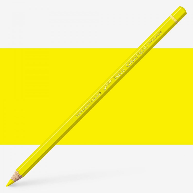 Caran d'Ache : Pablo Coloured Pencil : Canary Yellow 250