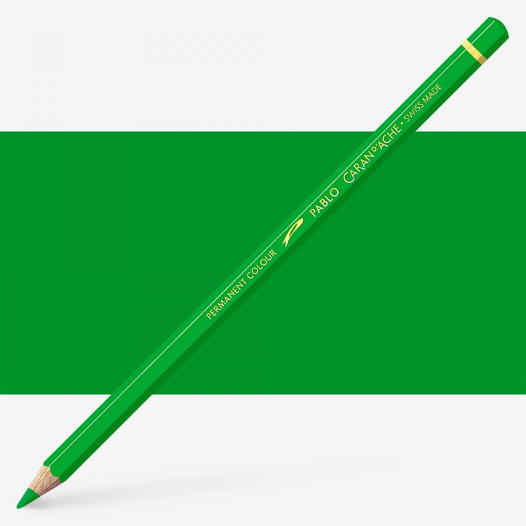 Caran d'Ache : Pablo Coloured Pencil : Peacock Green 460