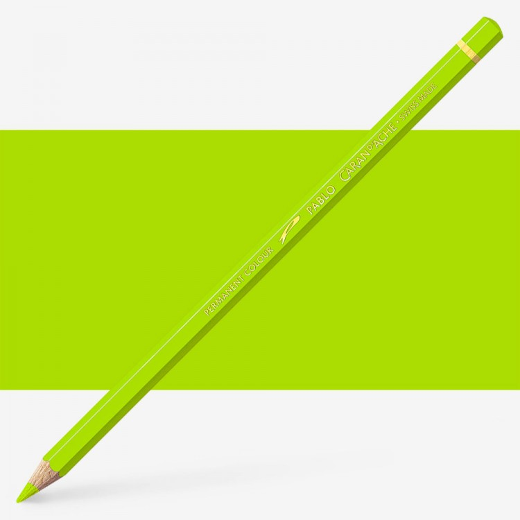 Caran d'Ache : Pablo Coloured Pencil : Spring Green 470