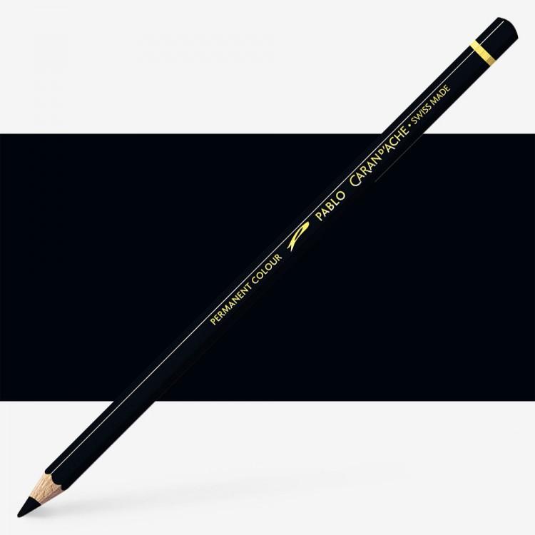 Caran d'Ache : Pablo Coloured Pencil : Ivory Black 496
