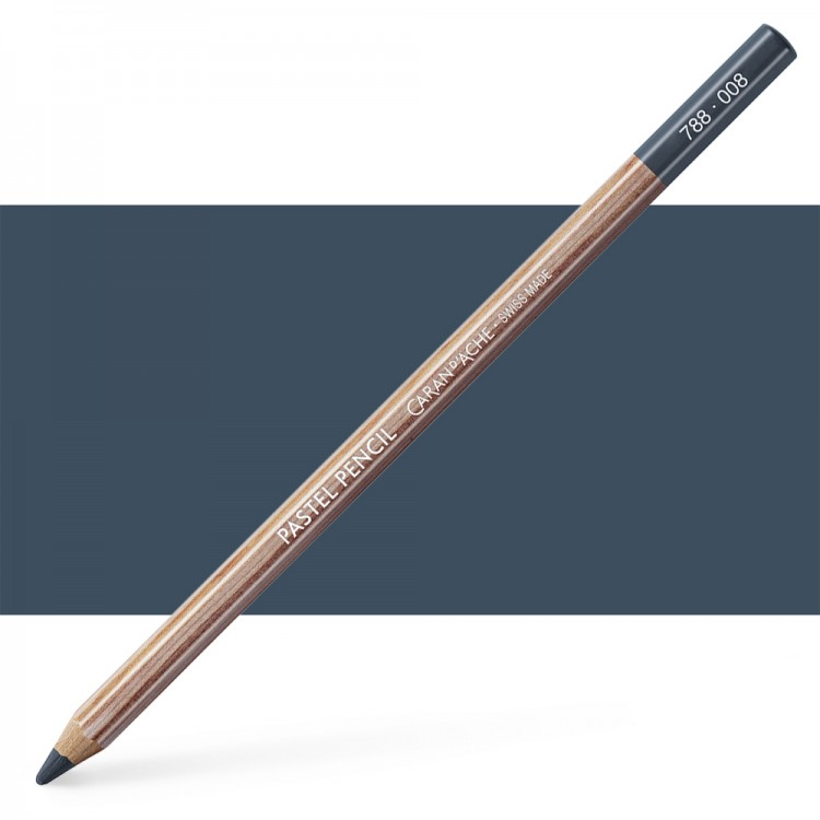Caran d'Ache : Pastel Pencil : Greyish Black